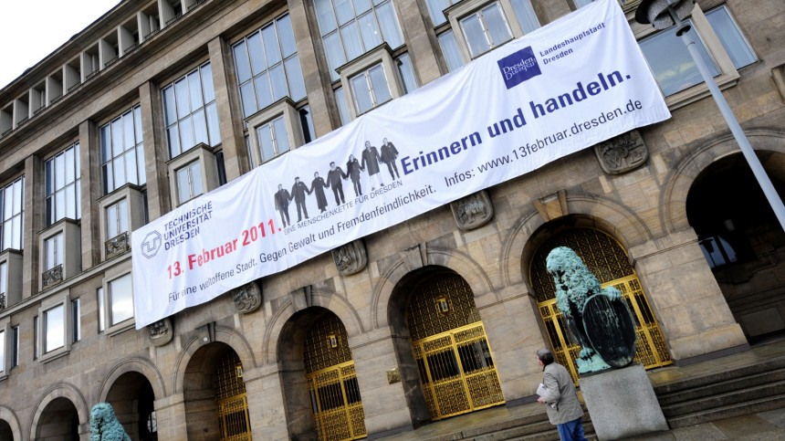 Dresden setzt sich gegen Neonazi-Aufmarsch zur Wehr