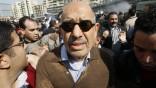 Wünscht sich einen jüngeren Präsidenten: Mohamed ElBaradei während der Proteste Ende Januar in Kairo