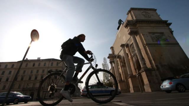 Fahrradfahren in München, 2011