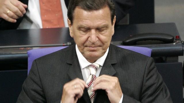 Vertrauensfrage Schröder