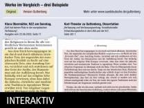 Guttenberg Plagiatvorwurf