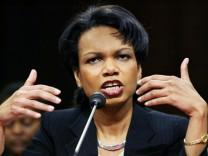 Condoleezza Rice vor Ernennung zur Außenministerin