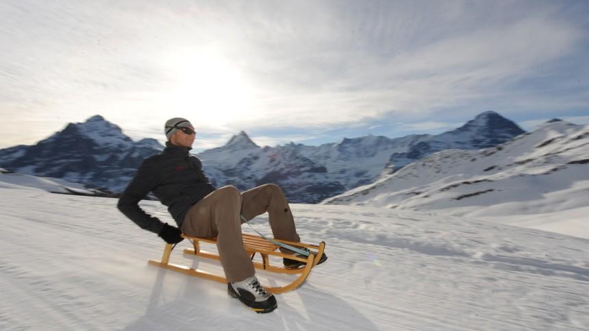 Ski Längste Rodelstrecke der Alpen