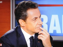Nicolas Sarkozy TV interview