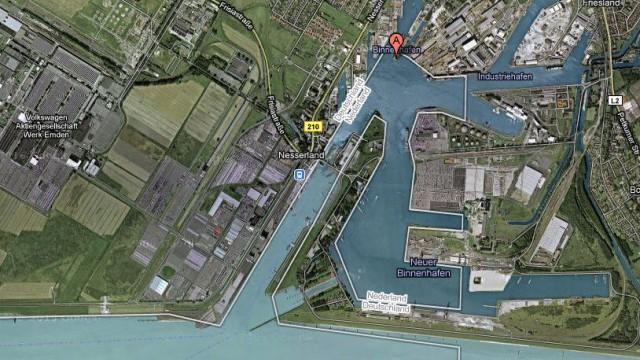 Emden Karte.Grenzdebatte Wegen Online Karte Google Schrumpft