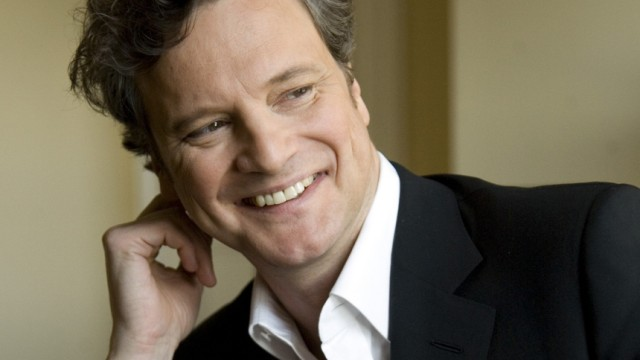 File photo of actor Colin Firth posing for Reuters in Beverly Hills
