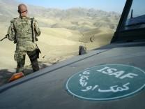 Ein toter Bundeswehrsoldat in Afghanistan