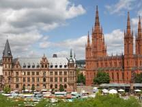 Wiesbadener Marktkirche nach 33 Jahren renoviert