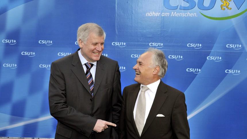 CSU-Vorstandssitzung - Huber, Seehofer