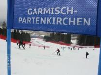 Milde Temperaturen waehrend der Ski-WM heizen Diskussion um Olympia-Standort Garmisch-Partenkirchen weiter an