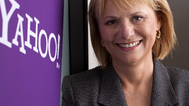 Publicity photo of Carol Bartz, newly named CEO of Yahoo