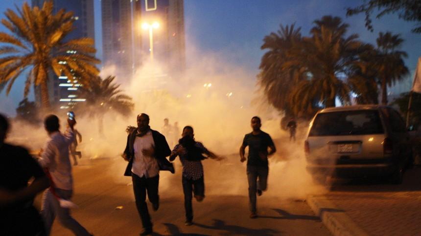 Bahrain Proteste von Schiiten in Bahrain