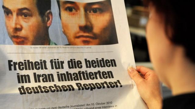 Zeitungsanzeige für deutsche Journalisten