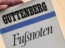 Guttenberg-Memoiren - Fußnoten
