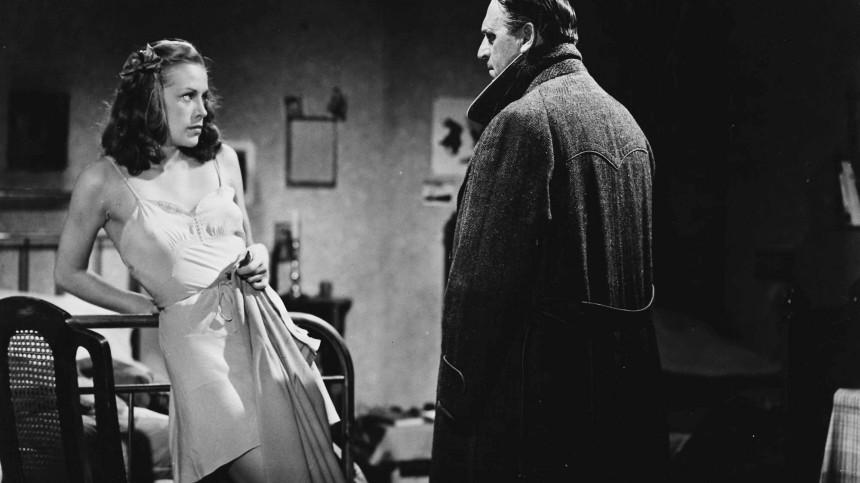 """Hildegard Knef in """"Die Sünderin"""", 1951"""