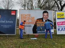 Endspurt zur Bürgerschaftswahl Hamburg