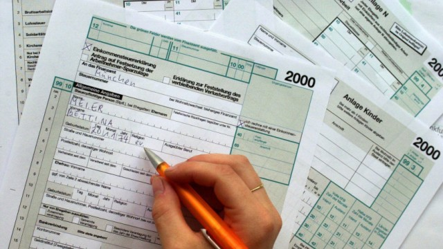 Steuererklärung 2000