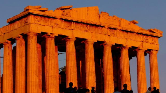Akropolis in Athen, 2004