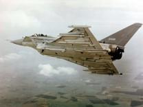 Eurofighter mit Meteor-Rakete