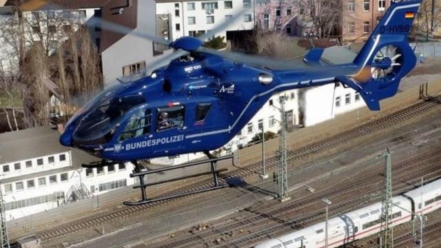 Hubschrauber Bundespolizei