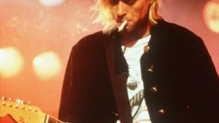Kurt Cobain von der Gruppe Nirvana