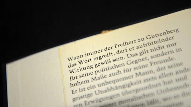 'Fussnoten' von Karl Theodor zu Guttenberg