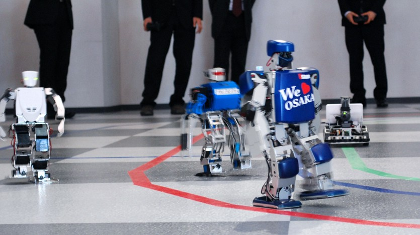 Roboter Roboter-Marathon in Japan