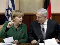 Bundeskanzlerin Merkel besucht Israel