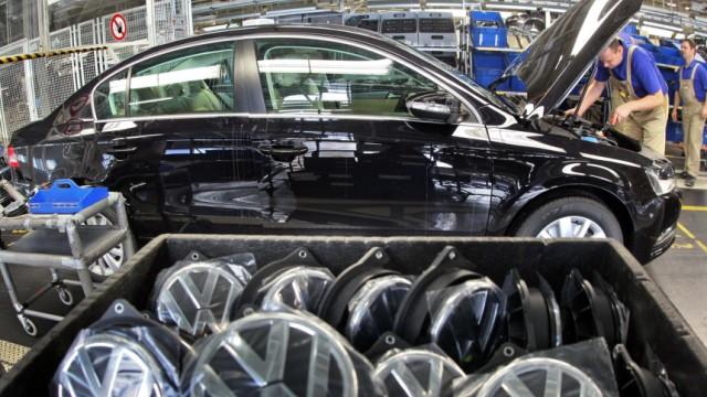 Zweimillionster VW Passat aus Sachsen
