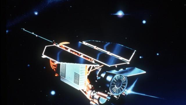 Deutscher Satellit vor dem Absturz