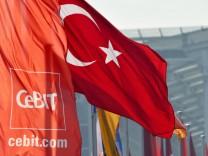 CeBIT 2011 - Aufbau