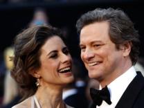 Colin Firth;Livia Giuggioli