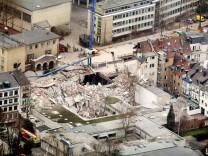 Einsturz Stadtarchiv Köln vor einem Jahr