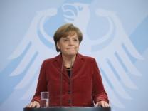 Statement von Bundeskanzlerin Merkel zum Ruecktritt von Guttenberg