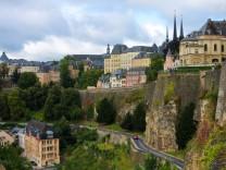 Luxemburg, Luxemburg Stadt, Beneluxländer, Stadt, Stadtansicht, Städtisches Motiv, Wohnhaus, Kirche