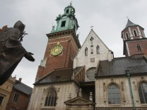 Wawel-Burg in Krakau wird Kaczynski's letzte Ruhestätte
