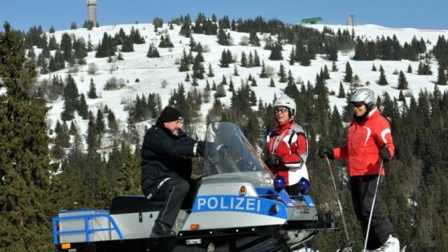 Deutschlands höchstgelegene Polizeistation
