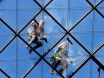 Lohnerhöhung für Fensterputzer gestoppt