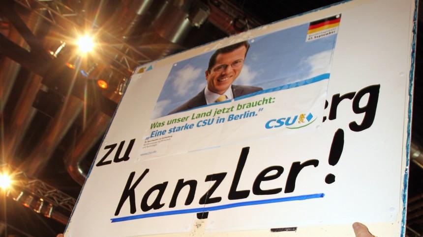 Guttenberg will laut 'Bild' zuruecktreten