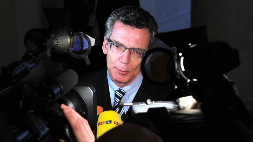 Der neue Bundesverteidigungsminister Thomas de Maiziere (CDU)
