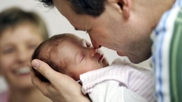 Kinderbetreuung Väter in Deutschland