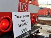 Warnstreik GDL - Stuttgart