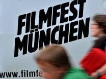 Plakate werben für Filmfest München