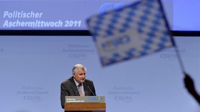 Politischer Aschermittwoch der CSU