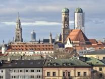 Blick auf München, 2011