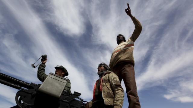 Libyen Bürgerkrieg in Libyen