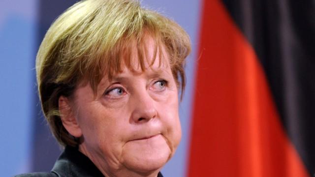 Krisentreffen nach Reaktorunfall in Japan - Merkel