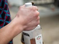 Alkoholexzesse enden oft im Krankenhaus