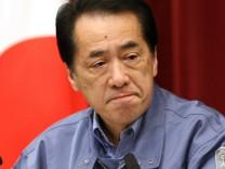 Schweres Erdbeben erschüttert Japan - Naoto Kan