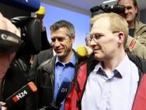 Pressekonferenz beim Stromkonzern Areva NP GmbH